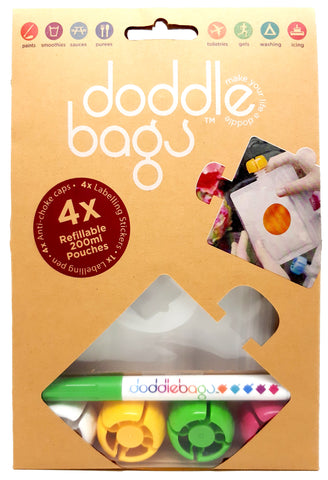 NEW! | DoddleBags x 4 200ml DoddleBags DoddleBags