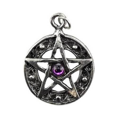 Protected Life Pentacle amulet