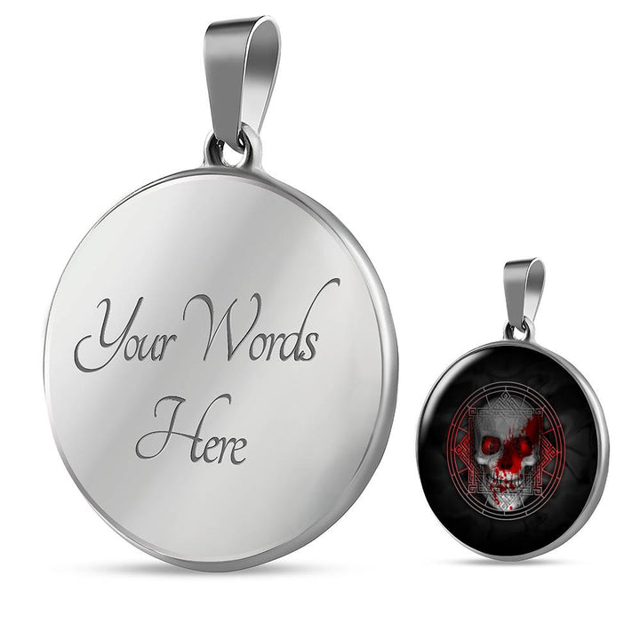 Bloody Skull Luxury Necklace