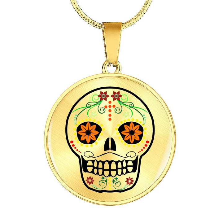 Petals Day of the Dead Necklace