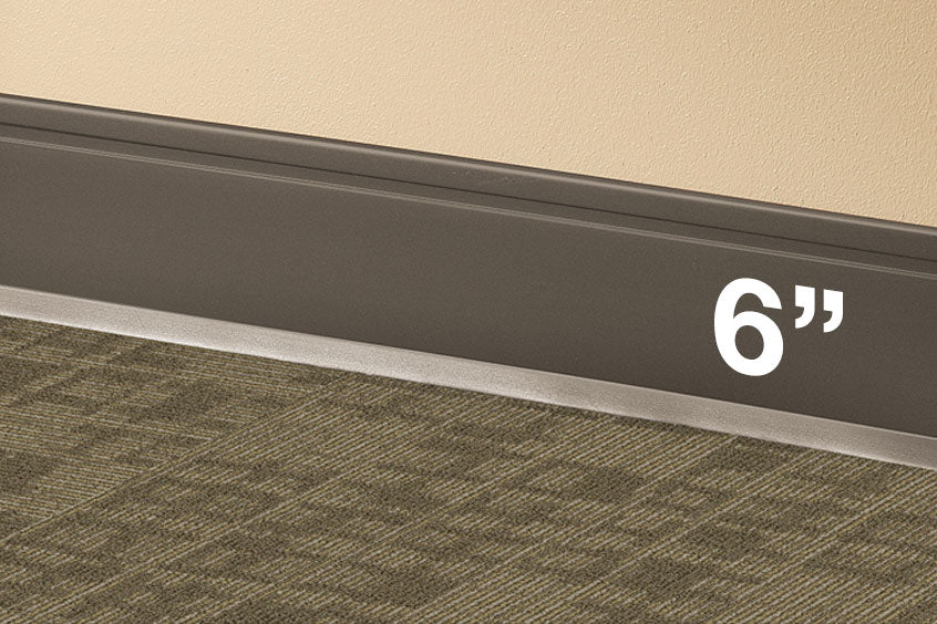 6 Quot Inch Vinyl Cove Base Rubber Baseboard Commercial