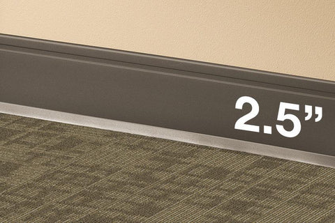 Wall Base Molding | Rubber Baseboard Trim | Vinyl Cove Moulding