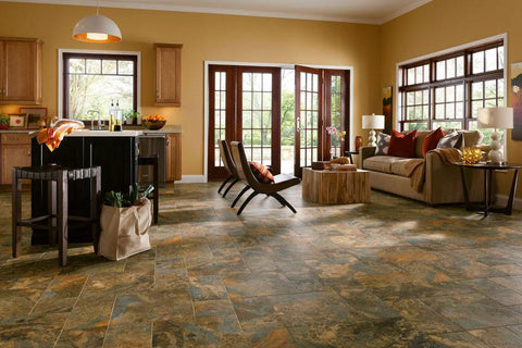 Living Room Flooring Ideas | Wood Floor Options | Tile Design ...