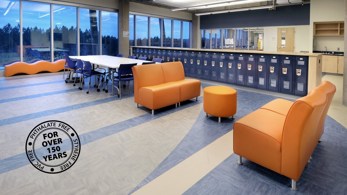 MCT (Marmoleum Composition Tile)
