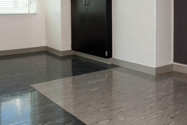 Flexco Rubber Wall Base Molding For Dentist Office