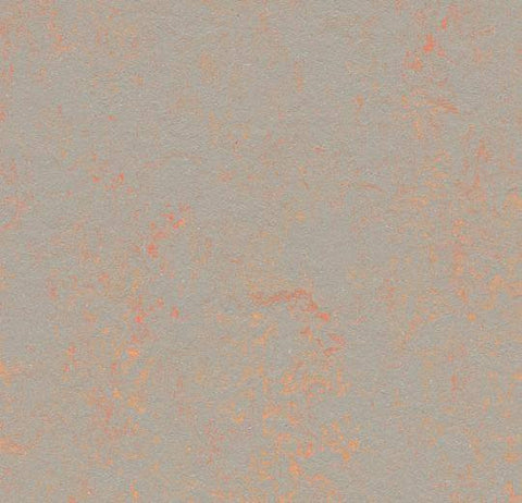 Forbo Orange Shimmer 3712 Marmoleum Concrete Linoleum Sheet