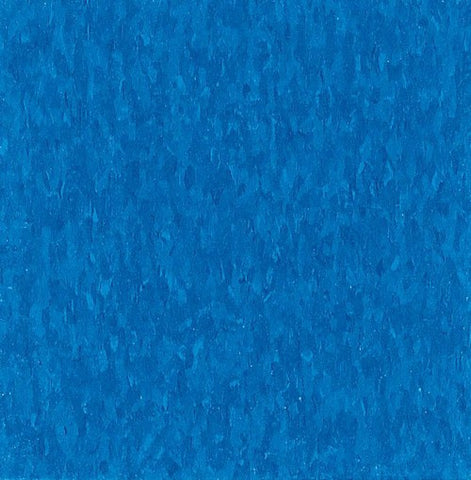 "Armstrong Caribbean Blue 51821 Vinyl Composition Tile (VCT) 12"" x 12"" Standard Excelon Imperial Texture"