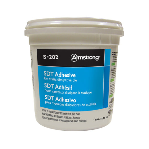 1 Gallon Static Dissipative Tile Adhesive S-202