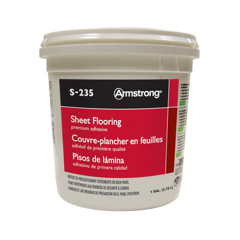 1 Gallon Premium Sheet Flooring Adhesive S-235