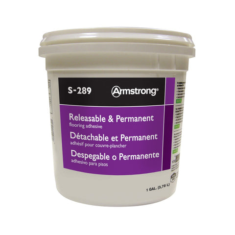 1 Gallon Releasable & Permanent Adhesive S-289