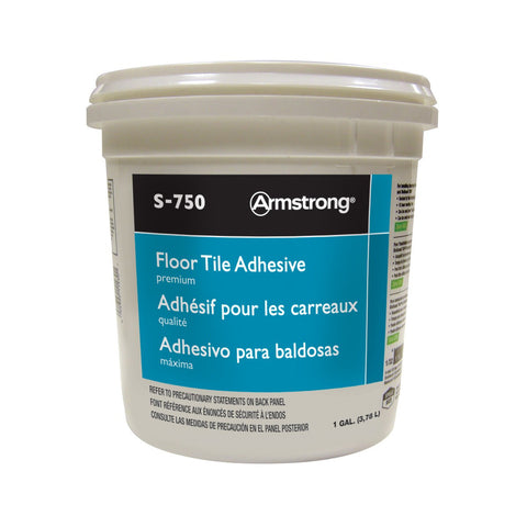 1 Gallon Premium Floor Tile Adhesive S-750