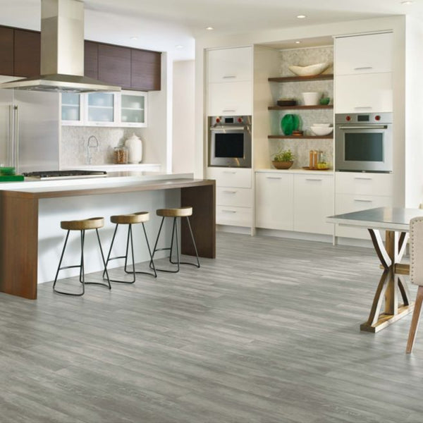 Armstrong Flooring Options: Armstrong Soho Gray A6722 Luxe With FasTak Install 6x48