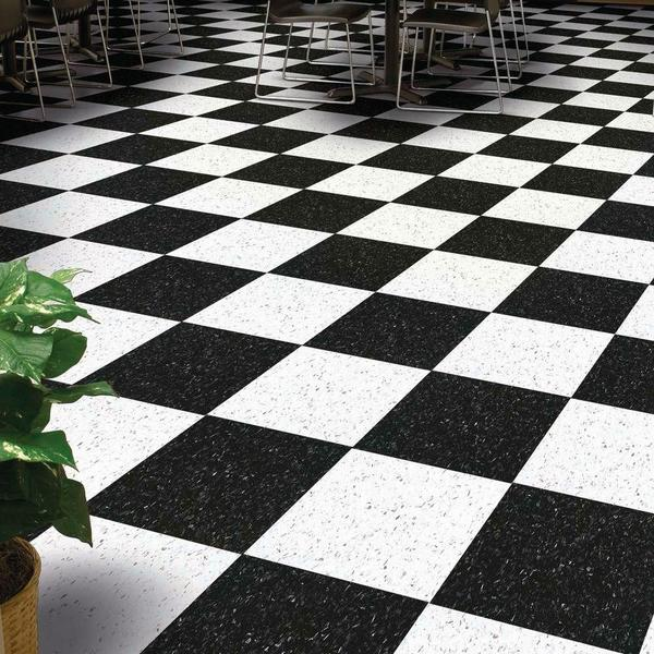 Armstrong Classic Black Vct Tile 51910 Excelon Imperial