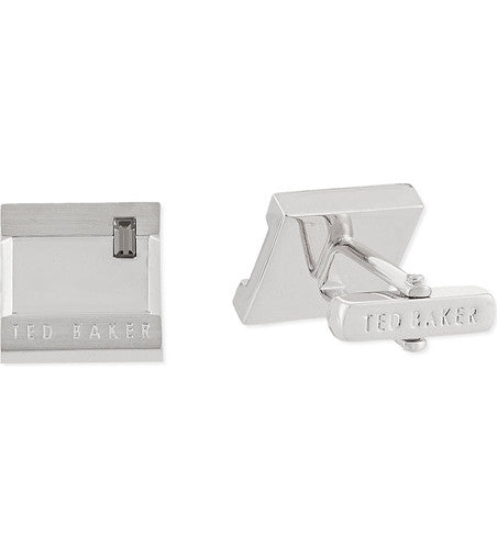Ted Baker Symtal Crystal Square Cufflinks