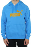 Puma Logo Mens Hooded Fleece Sweatshirt
