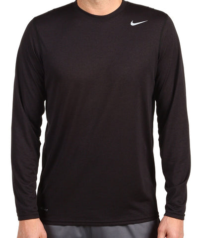 Nike Legend Long Sleeve Dri-Fit Mens Training T-shirt