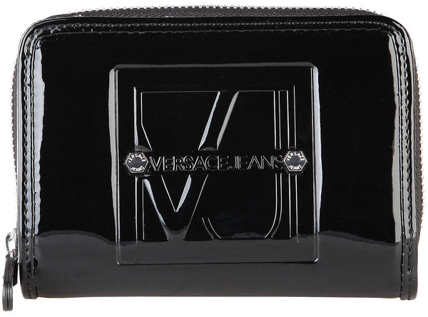 Versace Jeans Patent Leather Womens Wallet