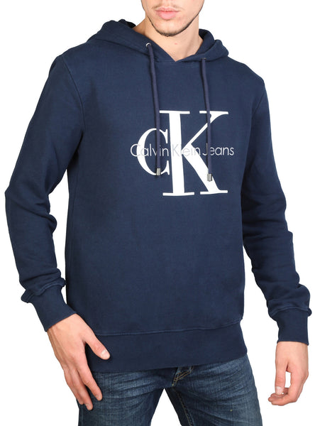Calvin Klein Hoddies Mens Hooded Long Sleeved Sweatshirt