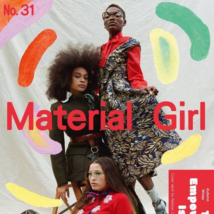 Material Girl releases an interview about The Wrap