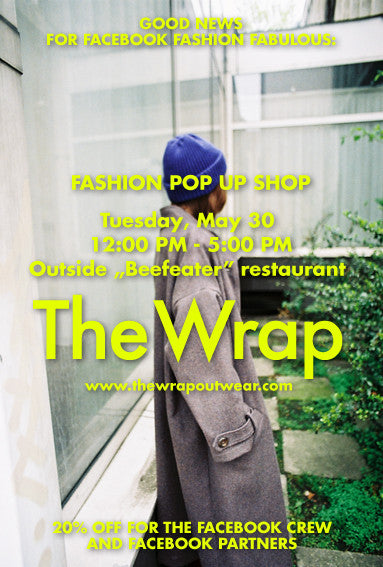 Fashion Pop Up Shop by The Wrap in Facebook Office, London