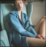 AUDREY BLUE coat