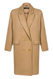 CASUAL CAMEL coat
