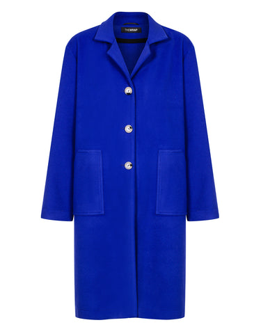 FULL COBALT coat
