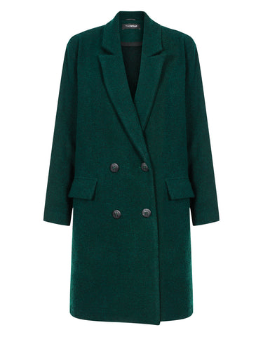 CASUAL GREEN coat
