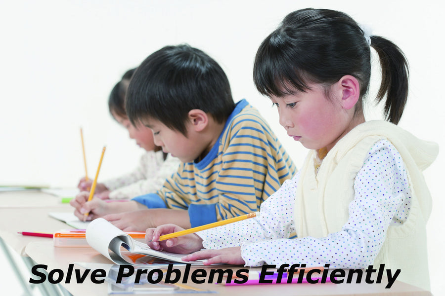 Japan Math Learning Methodology 3) Solve Problems Efficiently