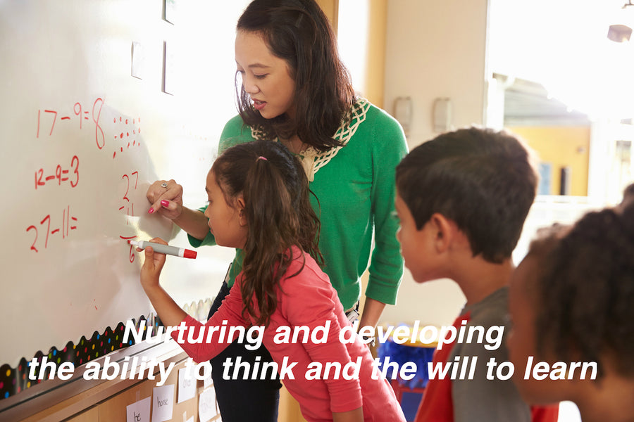 Japan Math Learning Methodology 1)Nurturing and developing the ability to think and the will to learn