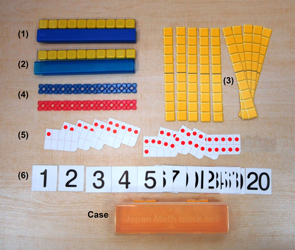 Items Included in Japan Math Block Set
