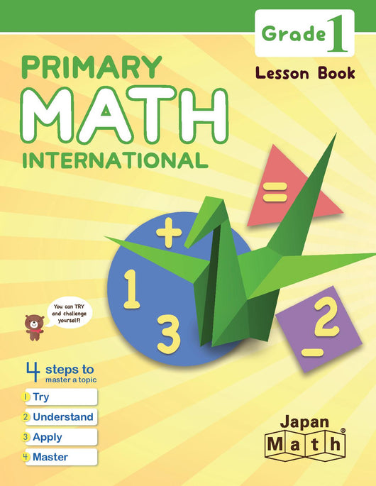 Japan Math Grade 1 Lesson Book