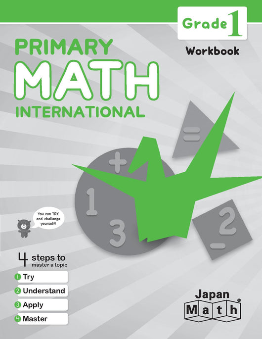 Japan Math Grade 1 Workbook