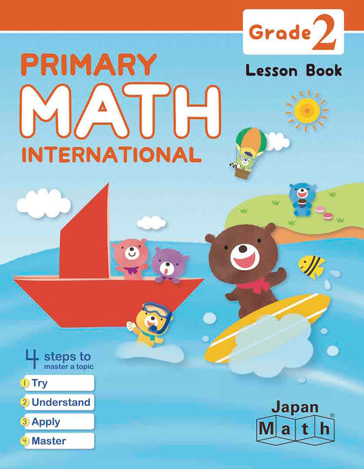 Japan Math Grade 2 Lesson Book