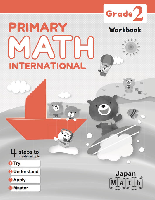 Japan Math Grade 2 Workbook