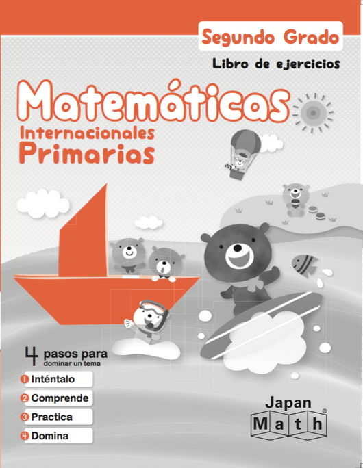 Japan Math Grade 2 Workbook - Spanish
