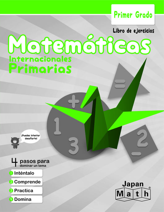 Japan Math Grade 1 Workbook - Spanish