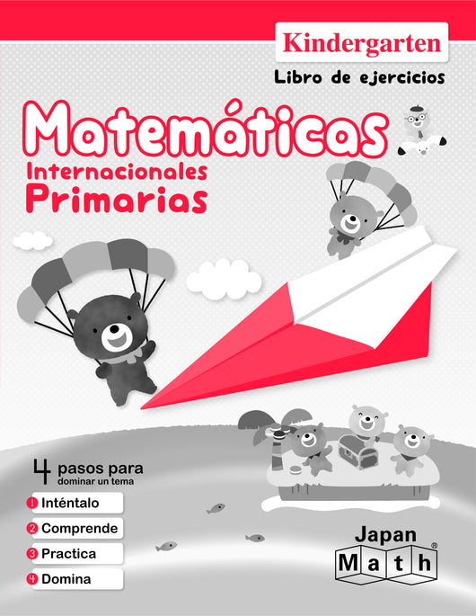 Japan Math Kindergarten Workbook - Spanish