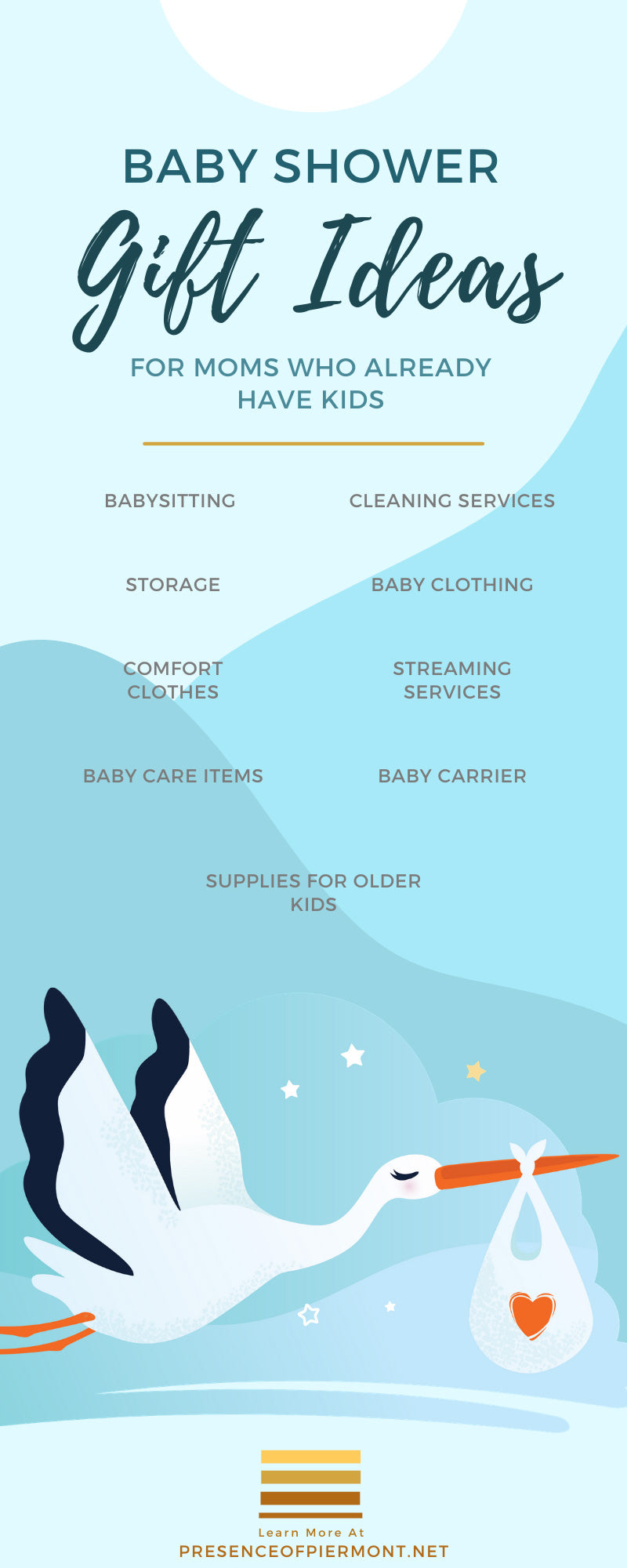 Baby Shower Gift Ideas for Moms Who Already Have Kids