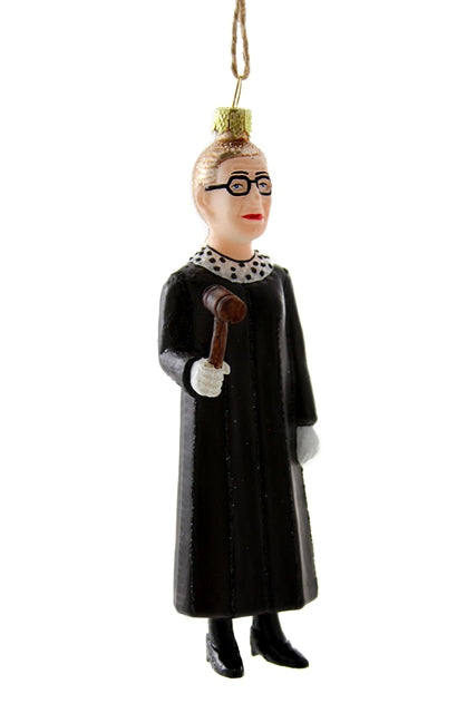 Cody Foster Ornament Ruth Bader Ginsburg Gavel