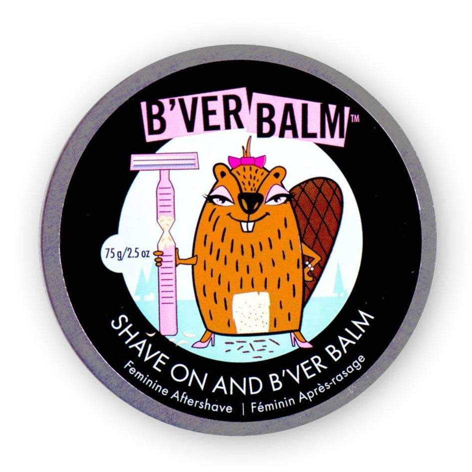 B'ver Balm Feminine Aftershave 2.5 oz