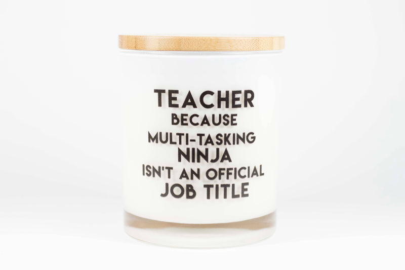 Soy Candles - Ninja Teacher