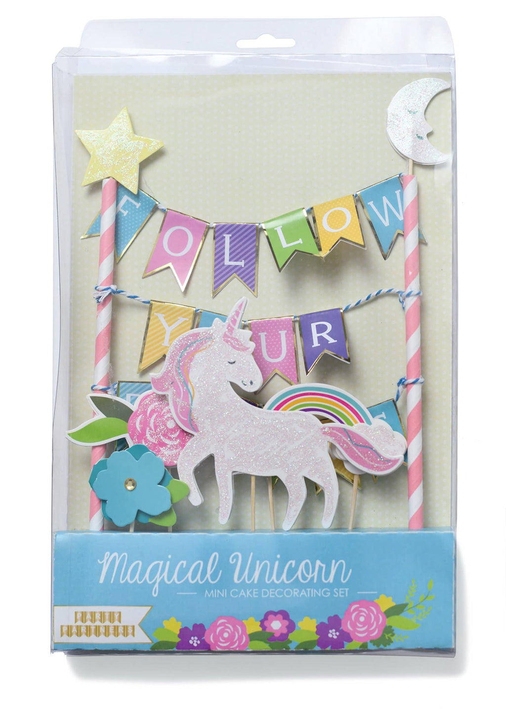 Party Partners - Follow Your Dreams Cake Topper