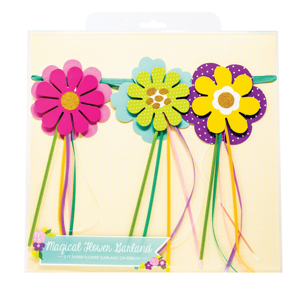 Party Partners - Magical Flower Garland Banner