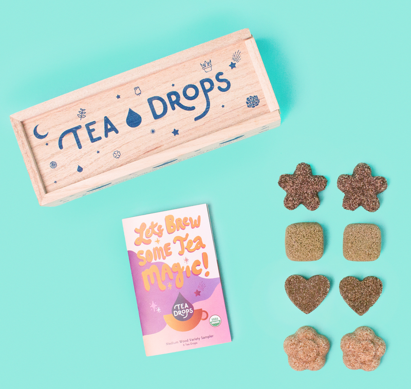 Tea Drops - Tea - Classic Assortment Wooden Box -  Tea Drops