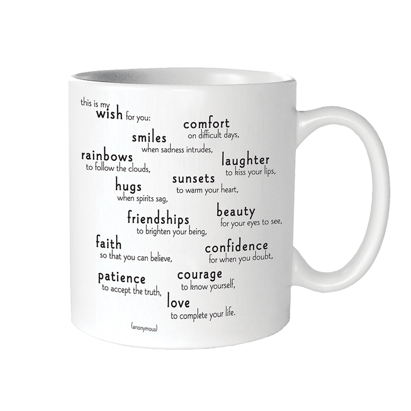 Quotable  Mugs - My Wish For You