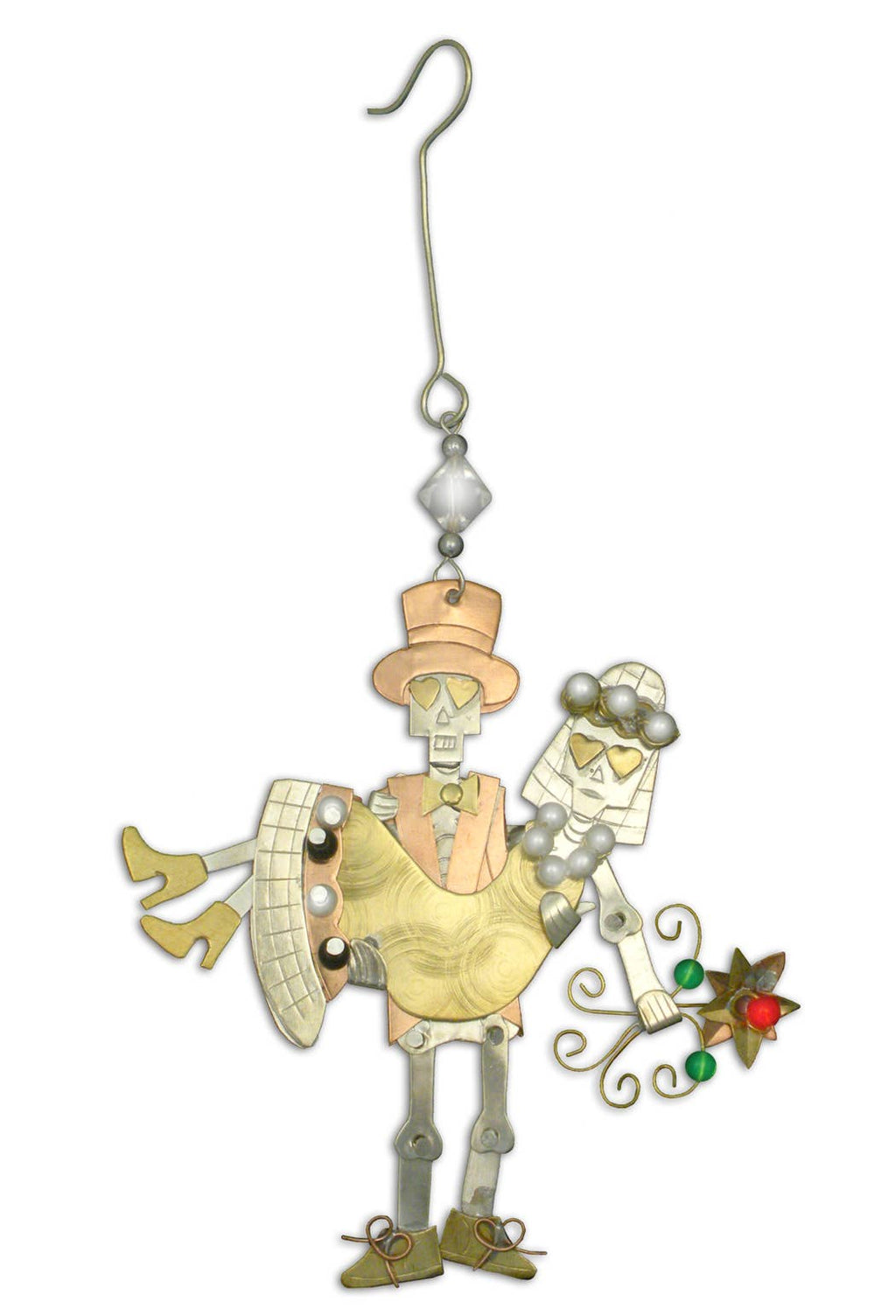 Pilgrim Imports - Til Death Do Us Part - Christmas Ornament