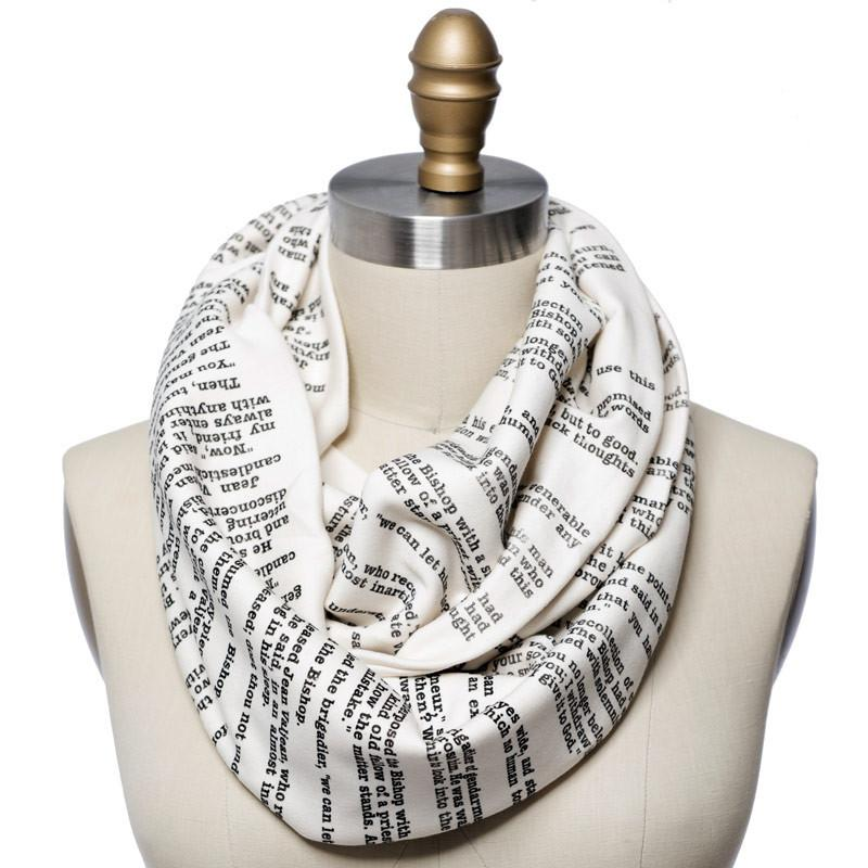 Book Scarf - Les Miserables
