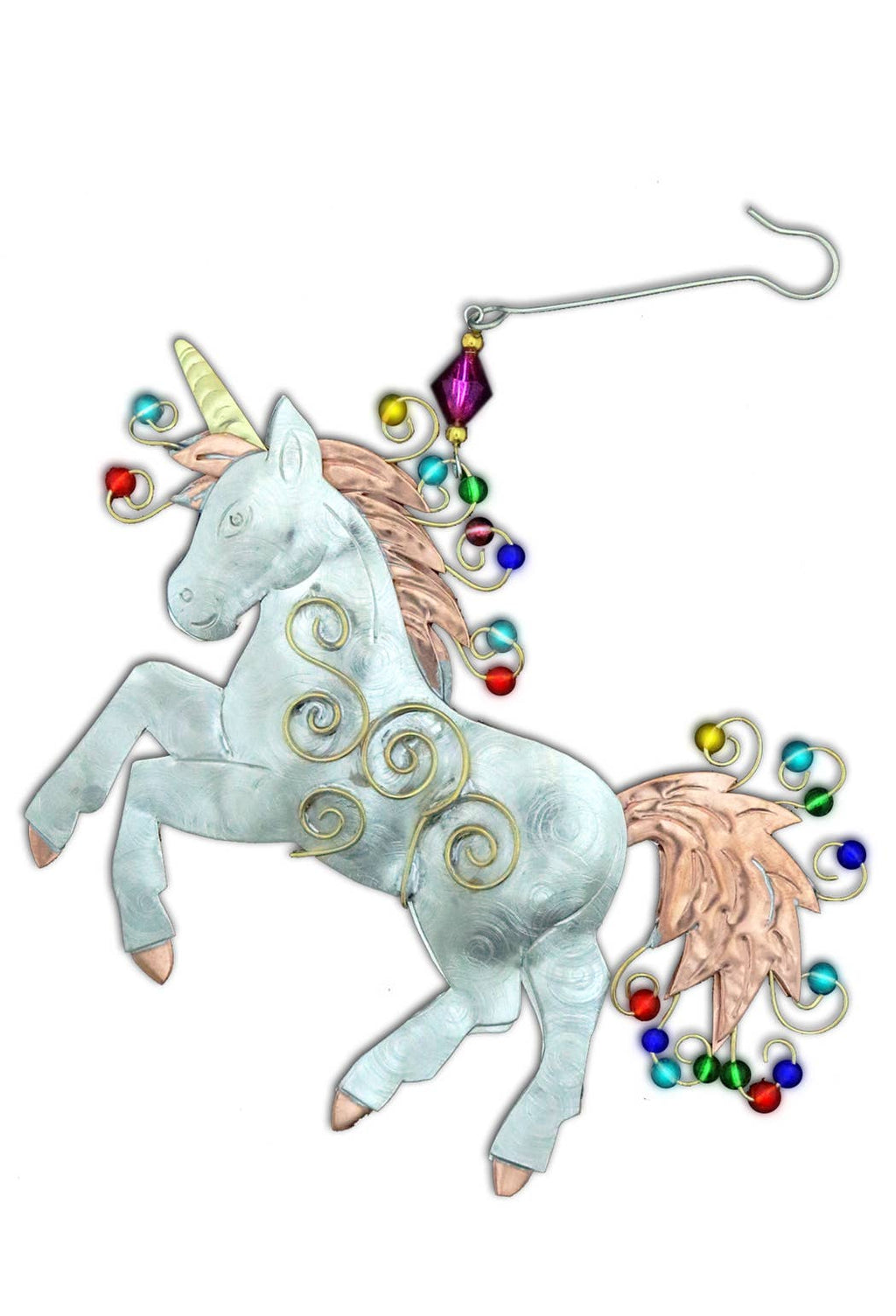 Pilgrim Imports - Proud Unicorn - Christmas Ornament