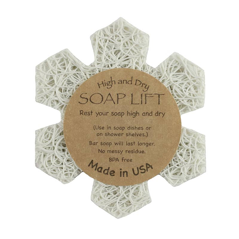 Soap Lift - Snowflake Soap Lift - White